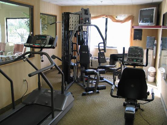 Best Western Danville Inn : exercise room