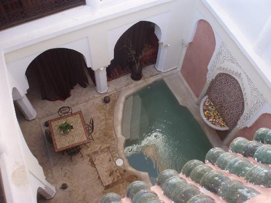 Riad Calista : la fontaine de vie