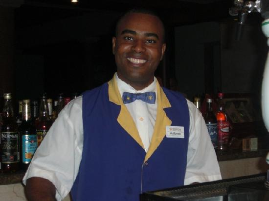 Iberostar Bavaro Suites: Alberto at the lobby bar