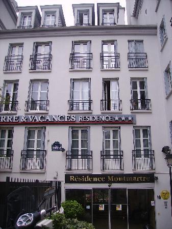 Adagio Paris Montmartre: Facciata