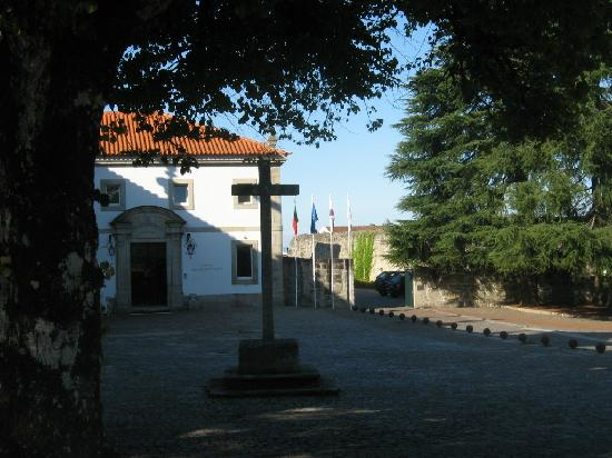 Pousada de Vila Pouca da Beira: The entrance to the Pousada's Hotel portion