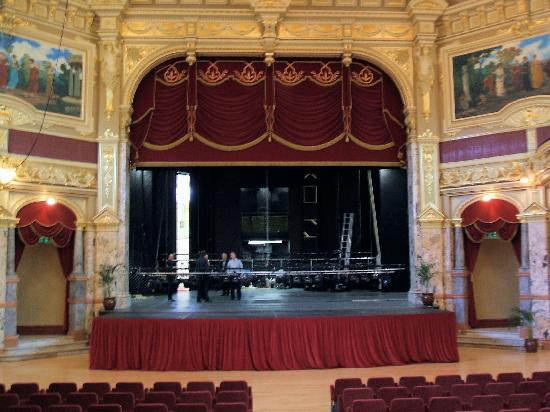 Royal Hall Theatre: Stage of the Royal Hall