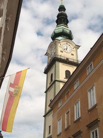 Jugendgästehaus: St Egids Church - Klagenfurt, worth a look