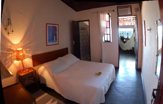 Pousada O Pescador: Inside of Room 1