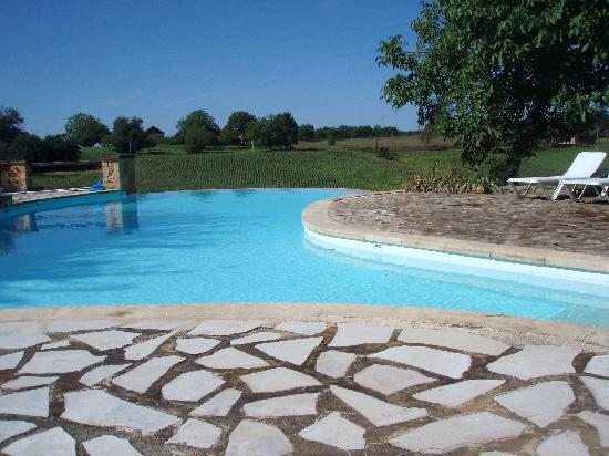 Hotel de la Ferme Lamy : Lovely Pool