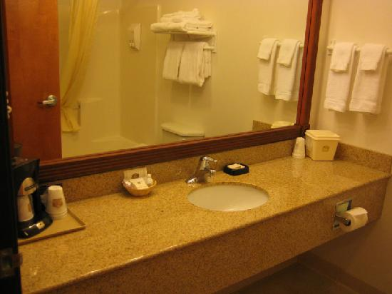 Best Western Wheatland Inn: Bathroom