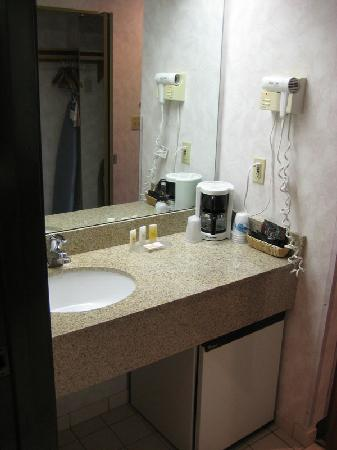 Quality Inn Oakwood: Bathroom