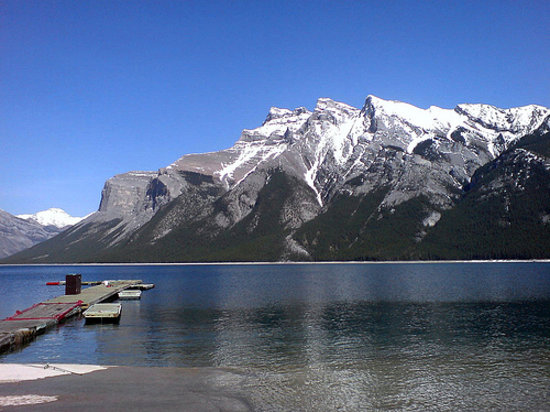 ‪بانف, كندا: Lake Minnewanka, Banff‬