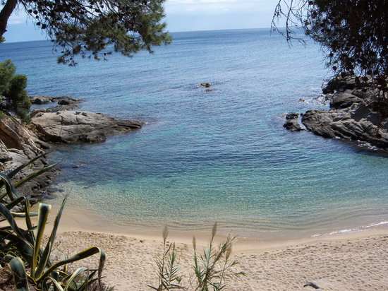 Platja d'Aro, Spain: the little cove