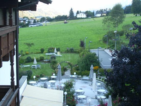 Hotel Crystal: vista jardines del hotel