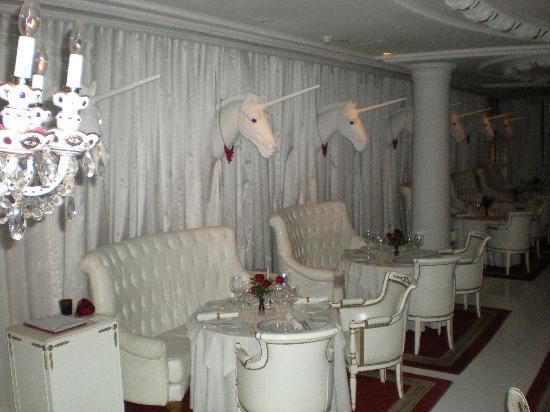 Faena Hotel: El Bistro - the formal dining room.