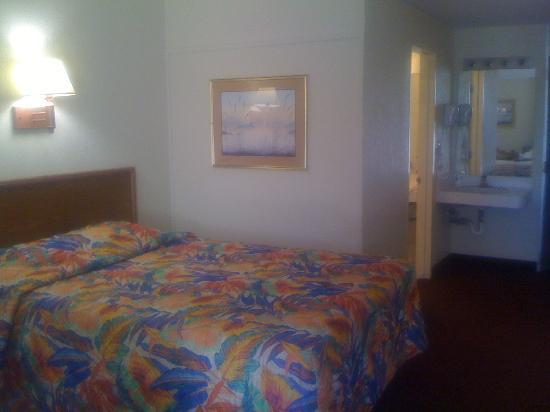Howard Johnson Inn - Vero Beach / Downtown : The room