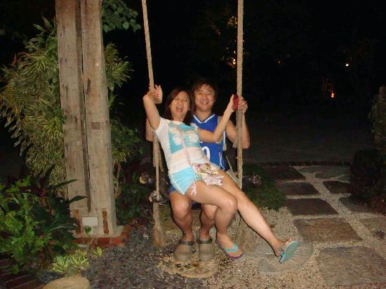 Amarela Resort: the lovely swing