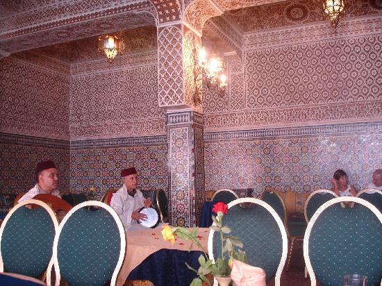 Grand Hotel Tazi: dining area