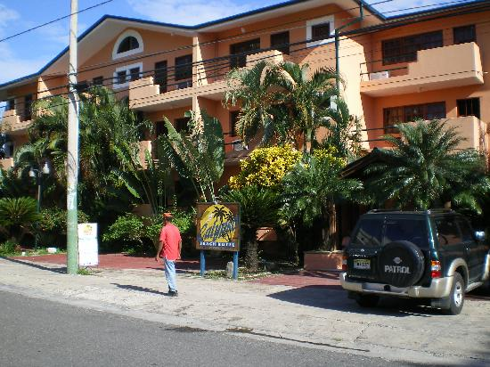 Calypso Beach Hotel: Front des Hotels 2008