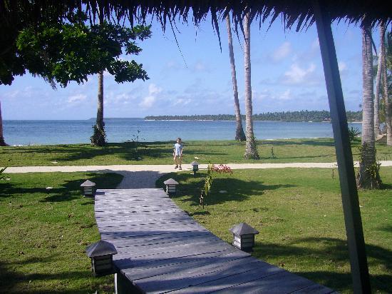 Kalinaw Resort: La vue de notre chambre