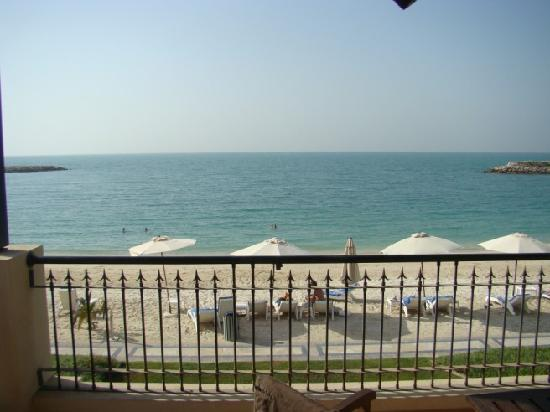 View from our balcony picture of hilton ras al khaimah for On our balcony
