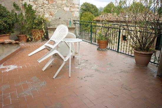 Pensione Elio Pistolesi : Hostel Balcony