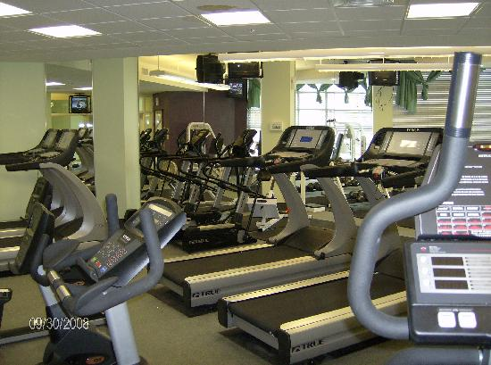 Tower 4 Fitness Center Picture Of Wyndham Ocean