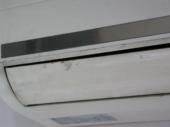 Imperial Borj Hotel: Si, si, es el aparato de aire acondicionado.