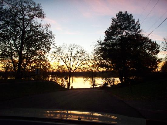 Sunset On Medicine Lake Plymouth Minneapolis Picture