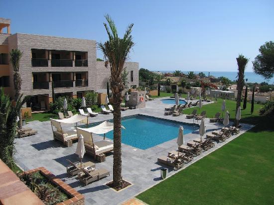 Top Level Pool Area Fotografia De Hotel Vincci Seleccion Estrella
