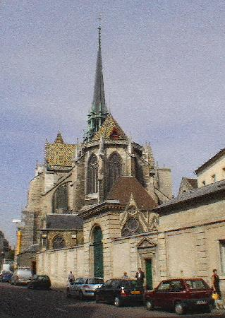 Dijon, Frankrike: St Bénigne