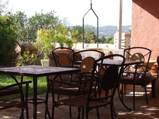 Xarc Agroturisme : breakfast area at Xarc