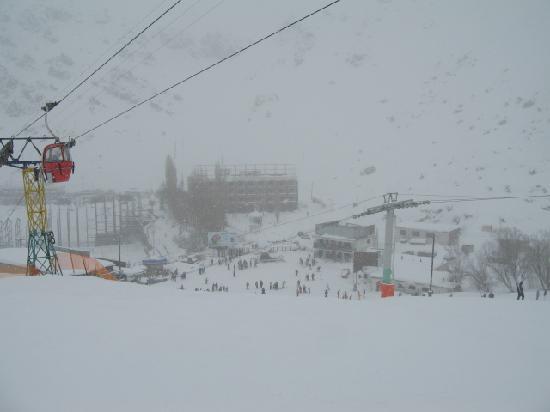 Dizin: 残念ながら吹雪・・・