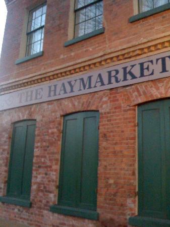 The Haymarket Boutique Hotel: Hotelm exterior