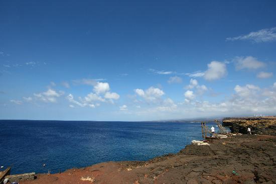 Наалеху, Гавайи: サウスポイントの景色
