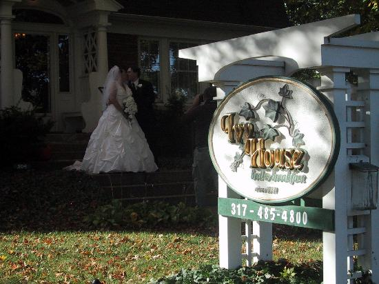 The Ivy House Bed and Breakfast: We plan on coming back for our first anniversary!