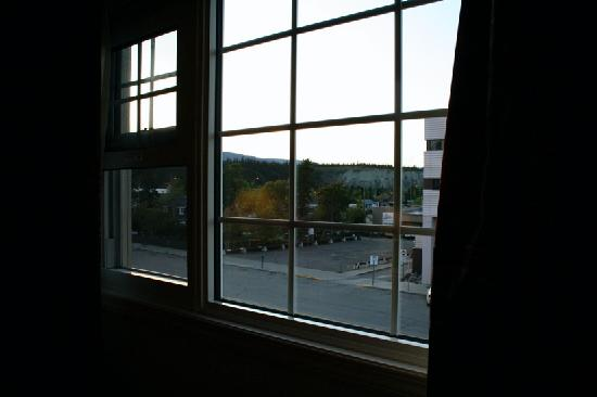 The Town and Mountain Hotel: View from the window