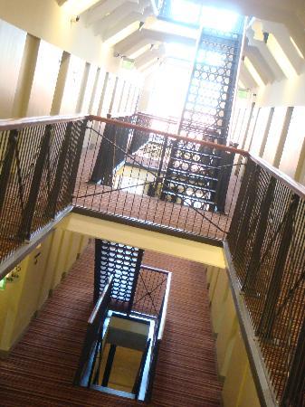 Hotel Katajanokka: View of the Main Hallway