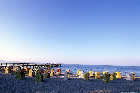 Timmendorfer Strand, Tyskland: Villa Gropius am Strand