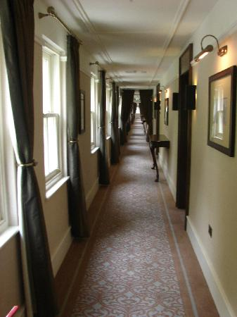 Lough Eske Castle, a Solis Hotel & Spa: Even the corridors were decorated to the highest specifications