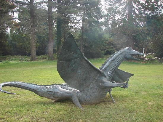 Lough Eske Castle, a Solis Hotel & Spa: Dragon sculpture in the grounds