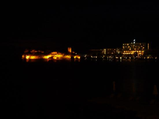 Sani Club: night view from the restaurant