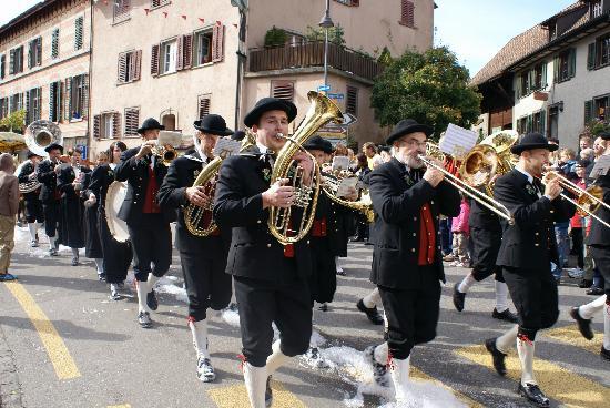 Schaffhausen, Szwajcaria: Da kommen die Bayern ja gerade richtig