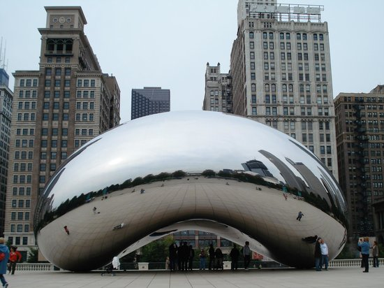 Cloud Gate: Another View!