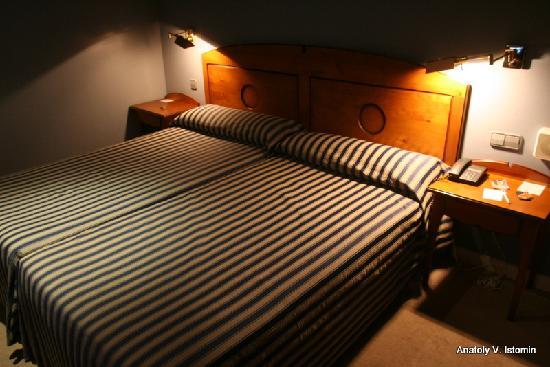 Plaza de Santiago Hotel: Double room 407