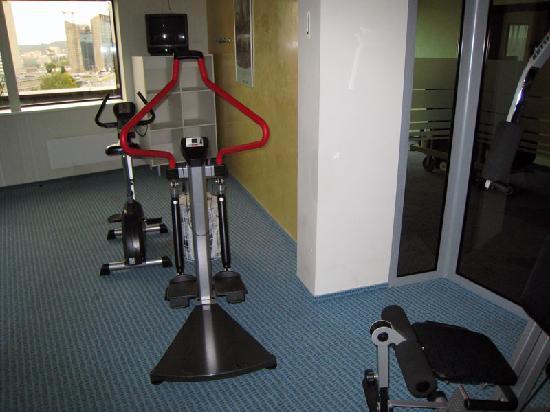 Holiday Inn Vilnius: Minimalist Gym