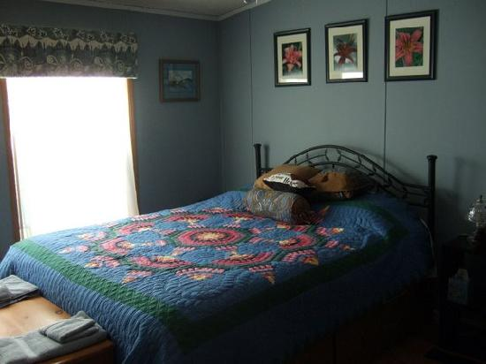 The Ginger Cat Bed & Breakfast : Our Room