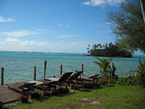 Muri Beach Resort: Muri Lagoon - from the resort