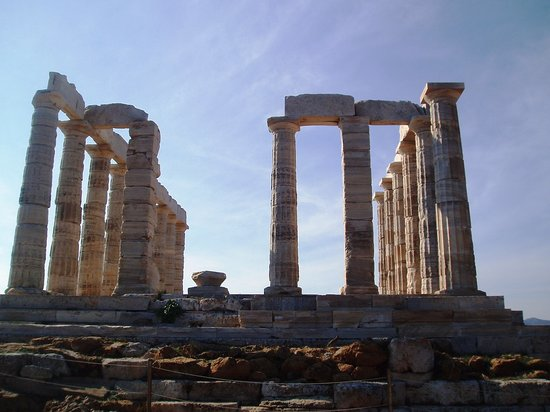 Sounio, Greece: poseidon temple