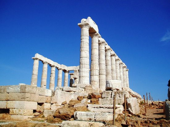 Sounio, Grécia: temple