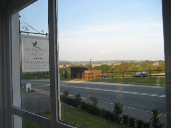 Rooks Hill Guest House: View from our bedroom window