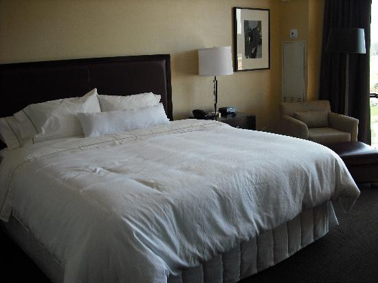 The Westin Huntsville: The king bed
