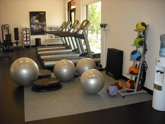 The Westin Huntsville: workout room