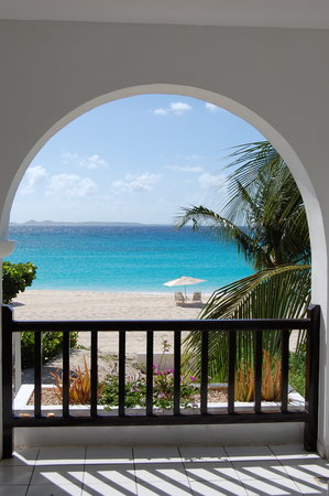 Anguilla: from our room at Cap